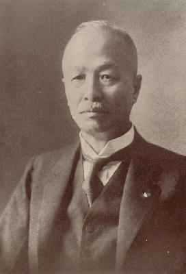 市長時代の勝田銀次郎(昭和10年頃)