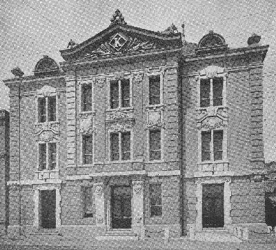 日濠館(兼松商店)明治四十四年竣工