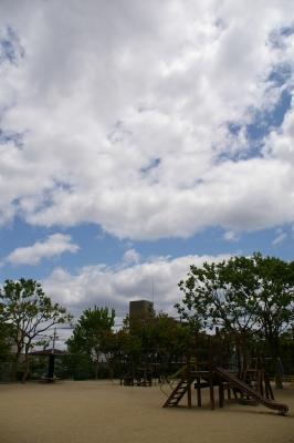 青い空・・・。