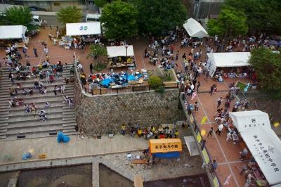 毎年6月に開催される灘チャレンジの風景