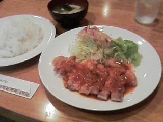 レストラン プチ「スペシャル定食(日替わり)」