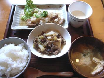 甘夏食堂「和風ごはん(日替り)」
