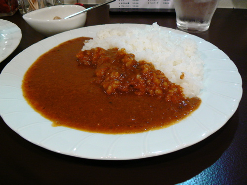Curry&Bar SORA「和牛スジカレー」