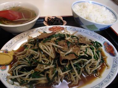 神戸一番「ニラレバ炒め」