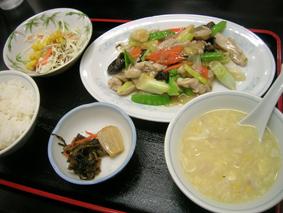 広東料理天天「今週のランチ」