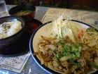 ハーフタイム「スタミナ焼定食」