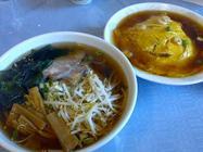 中国料理 景山「ラーメン、天津飯」