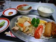 ヨカロー六甲店「中華定食」