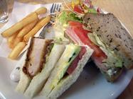 サンドイッチ&カフェ ふっくら「日替りサンドランチ」