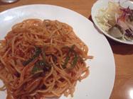 レストランプチ「イタリアンスパゲティ」
