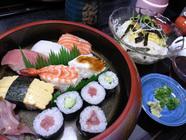 鮨七福「寿司定食」
