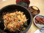 樂菜「石焼きビビンバ定食」