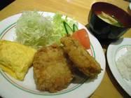 サンド「コロッケ定食」