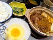居楽屋げんき「スタミナ鍋定食」