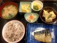 あいちゃん「鯖の塩焼き定食」